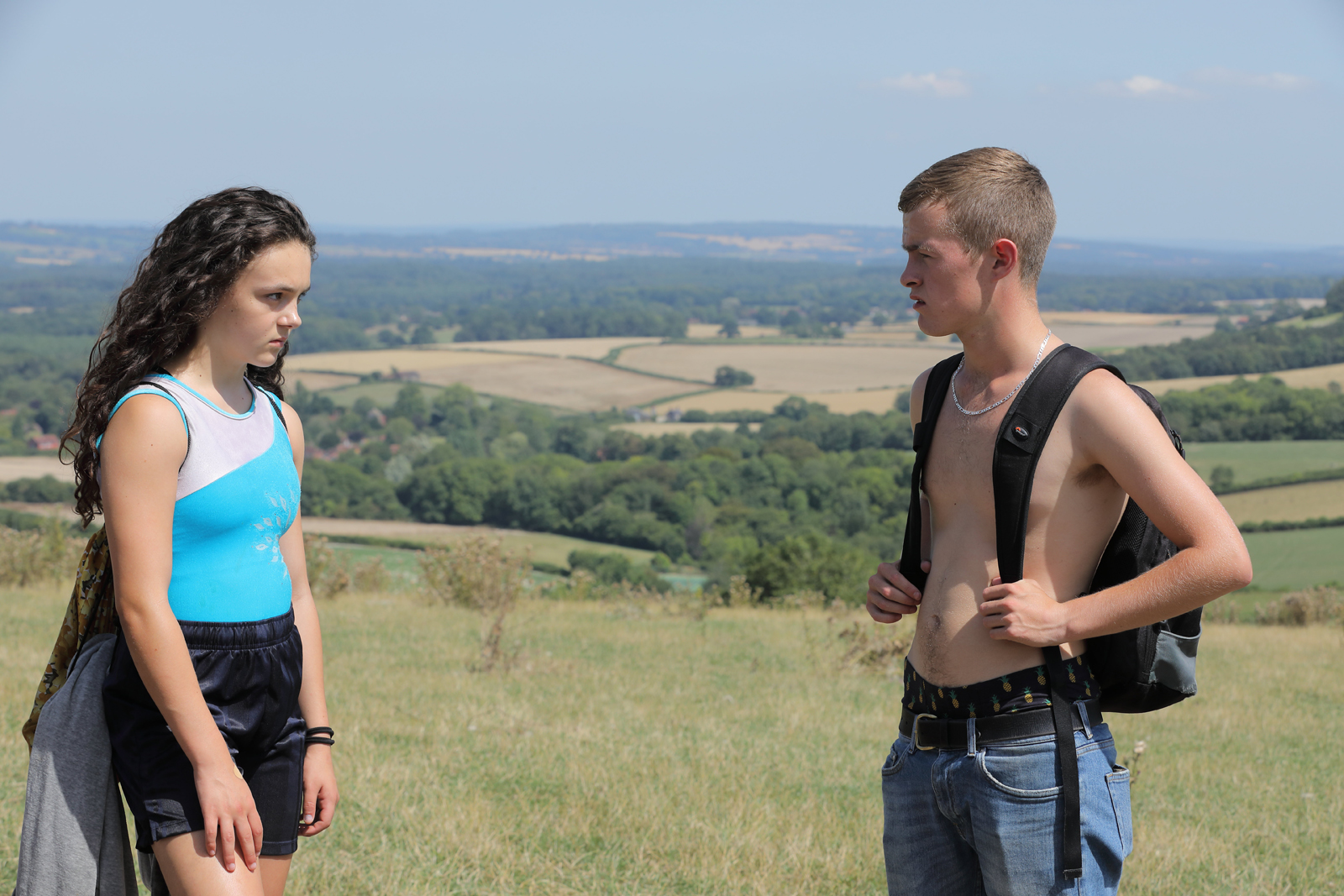 Frankie Box and Alfie Duggan in PERFECT 10, released in UK by 606 Distribution on August 7 2020